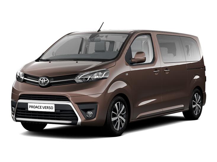 Toyota  Proace Verso - Wypożyczalnia samochodów, wynajem aut - Białystok, Podlaskie PHU
